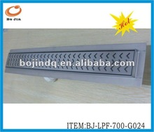 Stainless Steel Bathroom Linear Floor Trench Drain
