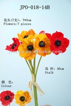 real touch flower artificial wedding flower Poppy
