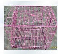 galvanized metal dog cage