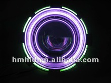 2012 hot sale hid projector lens 3.0 inch with angel eyes