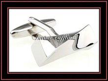 fashion metal men's brass cufflink findings