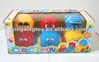 plastic pull line/string children's toy go kart