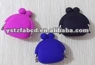 Mini Cute Silicone Girls Skull Ring Clutch Bag New 2012
