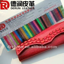 2012 HOT selling colorful shiny pvc leather for handbag S9002A
