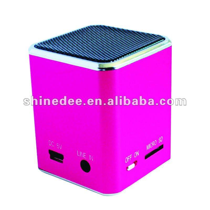 fashion portable mini stereo speakers (SP-181)