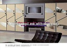 LIJIE waterproof solid phenolic hpl waterproof tv cabinet