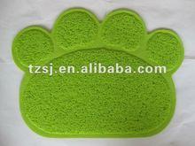 pvc environmental and anti-slip pet mats/pet pad