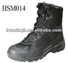 Black Durable Cowhide Firefighter Boots 2012