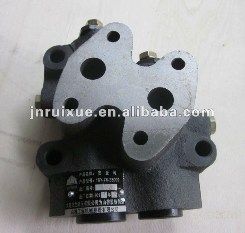 Shantui SD16 bulldozer relief valve 16Y-76-23000
