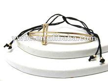 Crystal cross stretch bracelet fashion accessory (B101983)