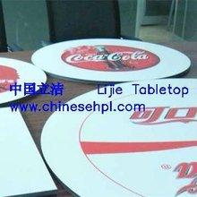 LIJIE outdoor furniture hpl outdoor round table tops