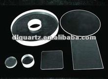 clear/transparent quartz disc