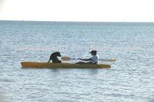 Plastic kayak fishing boats