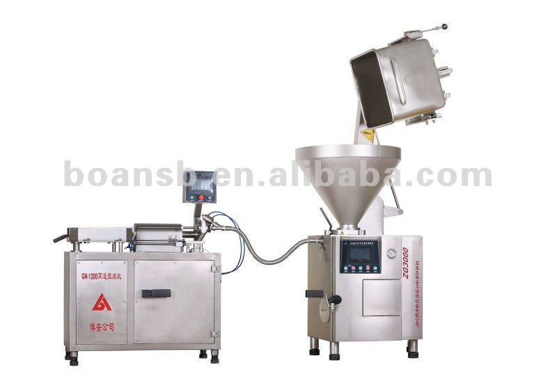 Fácil máquina de produção de enchidos