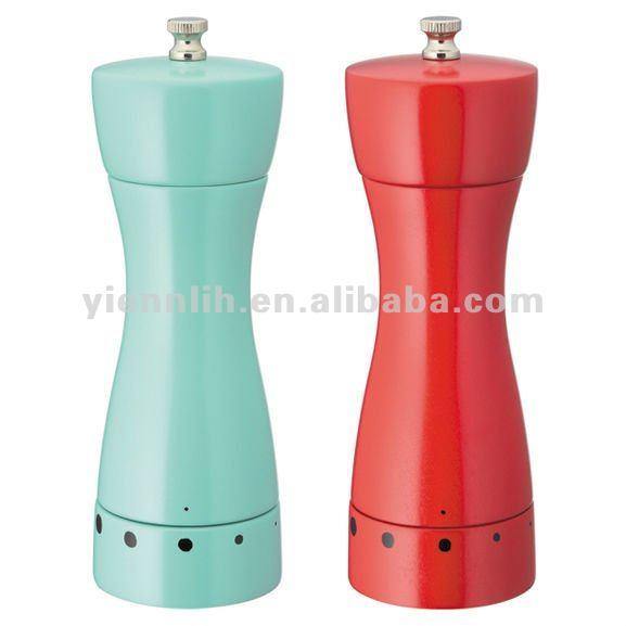 7 New Color Salt And Pepper Mill Buy Adjustable Salt