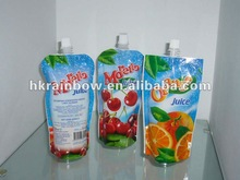 Stand up Bag with Spout for Fresh Chilled Juice