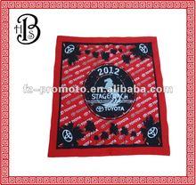promotion 100% cotton silk screen bandana