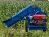 domestic corn peeling and threshing machine