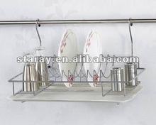 HCJ703B Kitchen Cabinet Wire Shelving Plate Rack