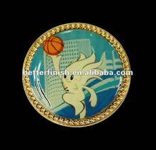 Basketball Printed Pins