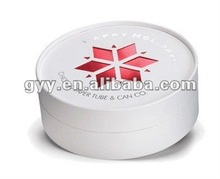 Round shape lid and base cardboard box for gift packaging