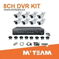2012 Top1 Sale 8CH DVR Surveillance System (CE,FCC,RoHS)