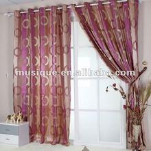 100% polyester yarn dyed jacquard curtain(XC016)