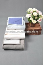 2015 new design two layer 100% polyester poral fleece blanket