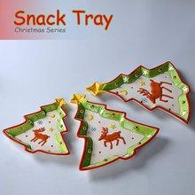 Christmas Tree Snack Plate