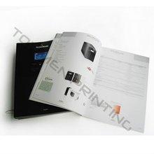 2012 Newly Matte Lamination Brochure Catalogue Printing