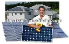 pv solar panel 130w