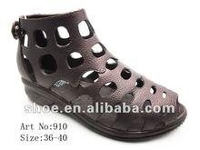 women shoes fashion sandale 2012 pcu shoes factory
