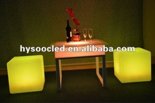 led glow cube/glowing bar chair dimensions