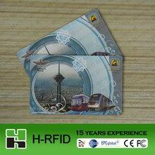 2012 China 860~960Mhz ISO 18000 6C UHF RFID Card (Alien9662)