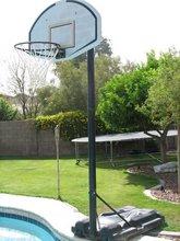 Portable adjustable basketball hoops/system