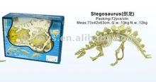 2012 nouvellement stegosaurus de DIY 3D/cadeaux de promotion/sllime pour les enfants TE12050042