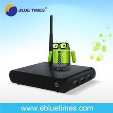 Cortex A9 Amlogic 8726 Flash 4G Android 4.0 Internet TV Box