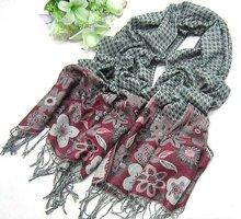 2012 fashion jacquard scarf