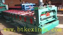 Galvanized Steel Roofing Sheet Cold Roll Forming Machine 2012 Latest Cold Steel Roll Former