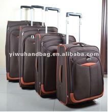 2012 Lastest Stock Luggage case in 4pcs set