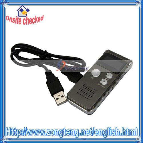 CL-R30 4GB Digital Voice Recorder Pen Iron gray