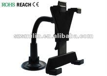 ABS/PVC Material Universal ipad ipad2 Suction Mount Car Holder