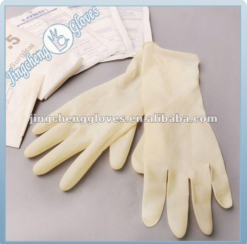 guantes quirurgicos de latex