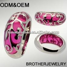 316L stainless steel mens rings