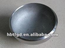 sch80 a234 wpb butt welded pipe end cap