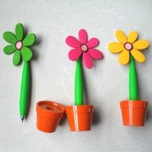 Flower shape ball pen for promotional
