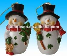 Hot sale Christmas resin snowman decoration