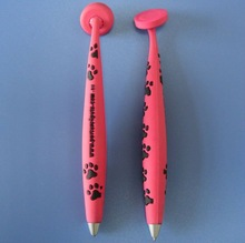 custom pvc 3D dog paw pen with magnet