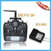 Walkera 2.4GHz 10 channles DEVO10 Transmitter+RX1002 Receiver