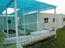 Prefabricated House -- FRP Container hotel